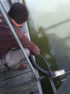 Columbus Metal Trades Volunteers Help Prevent Electrical Shock Hazards at Florence Marina State Park