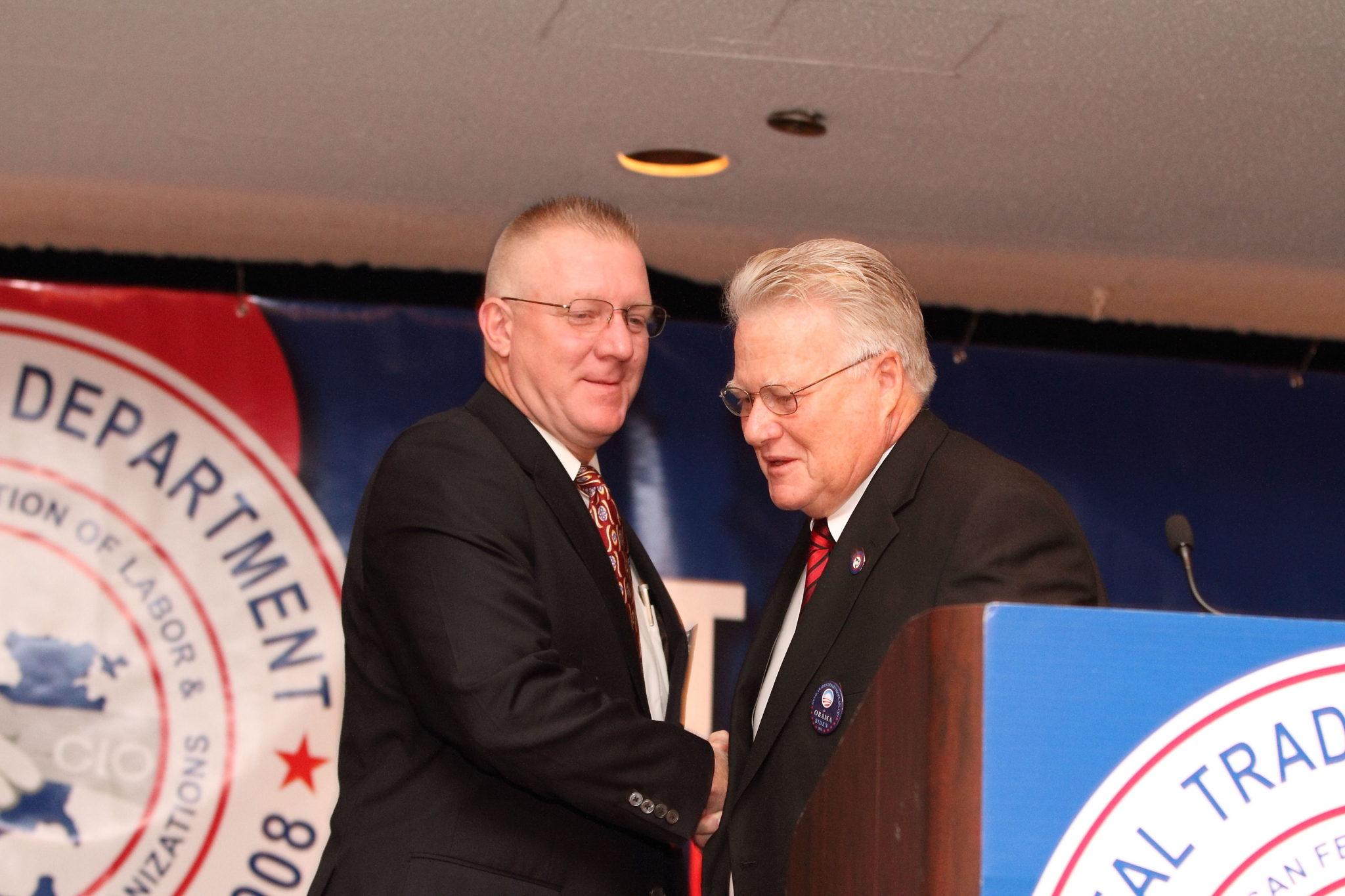 Sean McGarvey, BCTD President