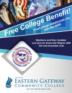 NEW! Metal Trades to Offer Free College Benefit