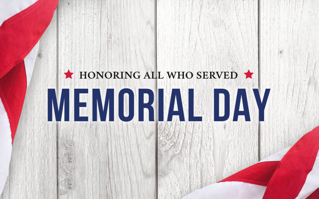 Memorial Day Message from President Hart