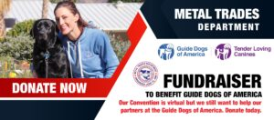 Donate Today! Help our Partners at Guide Dogs of America